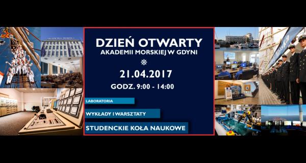 Dzień Otwarty Akademii Morskiej w Gdyni - 21.04.2017