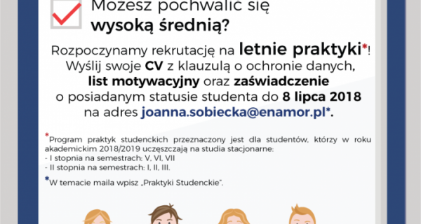 Oferta Praktyk Dla Studentów Uniwersytet Morski W Gdyni