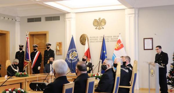 Uroczyste, otwarte posiedzenie Senatu UMG, fot. Katarzyna Okońska