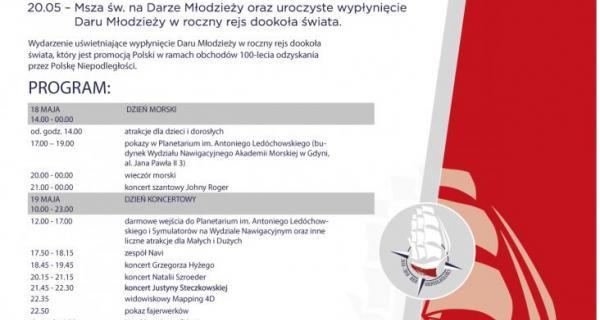 Żagle Wolności - plakat wydarzenia