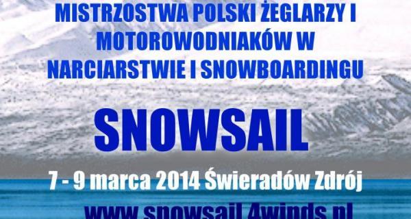 Mistrzostwa Polski Żeglarzy i Motorowodniaków w Narciarstwie i Snowboardingu SNOWSAIL 2014