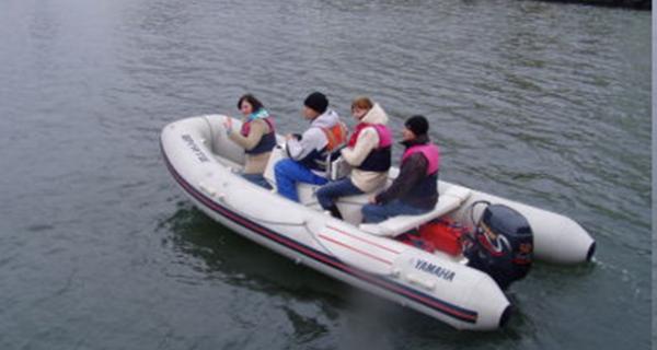 Szkolenia motorowodne dla studentów AMG