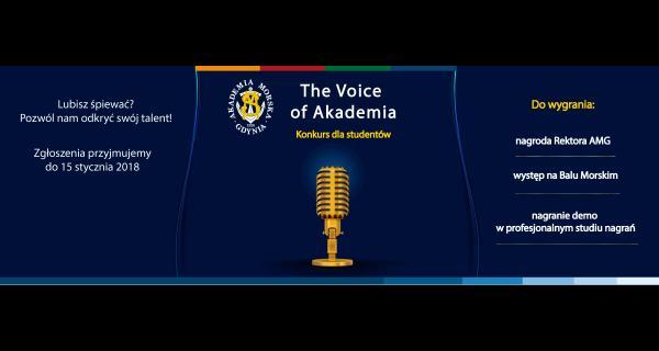 The Voice of Akademia - konkurs wokalny dla studentów