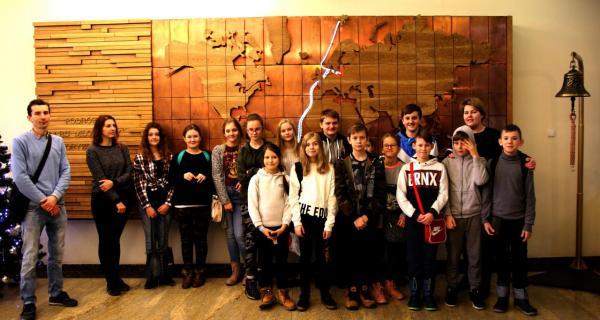Wizyta uczniów w AMG, fot. Magdalena Zajk