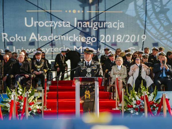 Inauguracja roku akademickiego 2018/2019, fot. Radosław Czaja